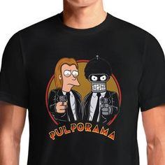 Pulp Fiction Futurama T-Shirts India Funny Quotes T Shirts Online Shopping Graphic Funky Printed Cool Tees For Mens Slogan Womens Clothing Casual Round Neck https://www.fanprint.com/stores/teeshirtstudio-fam?ref=5750