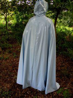 Regencape Rubber Raincoat Lack Gummi PVC Cape Poncho Regenmantel Friesennerz | eBay