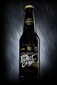 Stone Brewing Company's latest collaborative beer, The Perfect Crime
