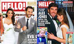 Celebrity Weddings 2016: From Eva Longoria to ALex Jones, the stars who tied the knot last year