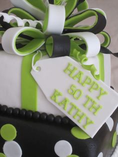 50th birthday cakes for women | Cakes...Or Something Like That: Surprise 50th Birthday Cake