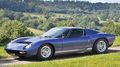 1971 Lamborghini Miura P400 S 'SV Specification' Pre-auction estimate: $615,000-$750,000. (Tim Scott/RM Auctions)