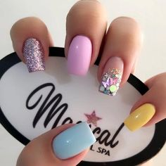 Stylish Nails, Trendy Nails, Cute Nails, Perfect Nails, Gorgeous Nails, Pink Nails, Gel Nails, Nagellack Design, Pretty Nail Art