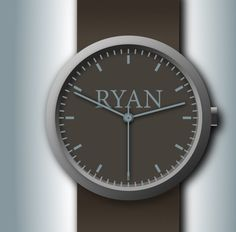watch by student Ryan Joos
