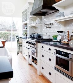 If you're a big cook or baker, consider a quartz countertop, as it's easier to care for and the darker varieties can easily hide stains and ...