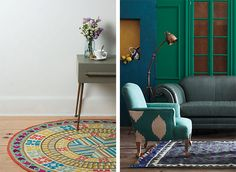 Graphic Patterned Rugs to Sweep You Off Your Feet on the Interior Collective 1