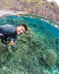 Hey Palawan! Underwater version of strolling. #underwater #coral #islandlife #gopro #estudeinglesnasfilipinas @goproph #travel @spl_waterhousing #dome