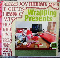 Inspiration -- Wrapping Presents Page