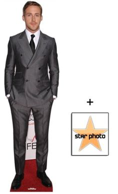 Fan Pack - Ryan Gosling Lifesize Cardboard Cutout / Standee - Includes 8X10 (25X20Cm) Star Photo Starstills UK Celebrity Fan Packs,http://www.amazon.com/dp/B00BZXAZBK/ref=cm_sw_r_pi_dp_-WX0sb0PPF9E52RS