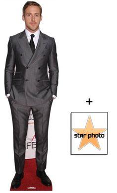 Fan Pack - Ryan Gosling Lifesize Cardboard Cutout / Standee - Includes 8X10 (25X20Cm) Star Photo Starstills UK Celebrity Fan Packs,http://www.amazon.com/dp/B00BZXAZBK/ref=cm_sw_r_pi_dp_-WX0sb0PPF9E52RS