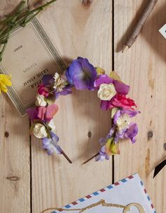 Me inspira: coronas de flores