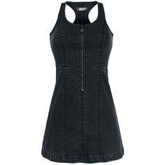 Racerback Jeans Dress - Short dress by Rock Rebel by EMP