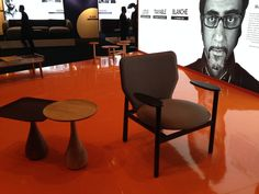 PALM Table + MOOR easy Chair for DEEP Furniture Sdn. Bhd. - Malaysia #PDP launch @EFE march 2016 KUALA LUMPUR - design: MANOLO BOSSI / DESIGN STUDIO