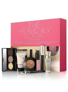 Victorias Secret the Heavenly Look Includes 6 Vs Makeup Musthaves Plus a Free Fragrance * To view further for this item, visit the image link.