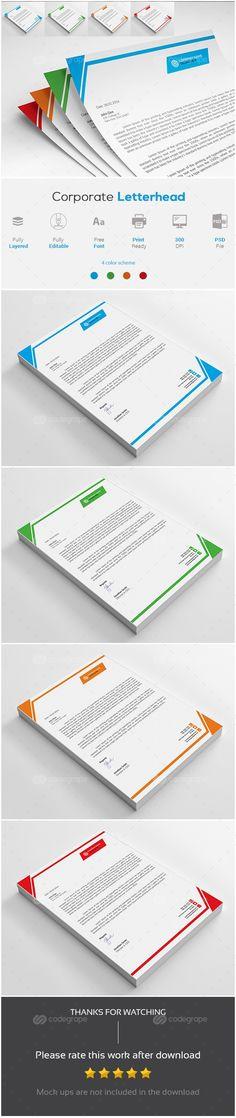 Cv Format For Job, Pad Design, Letterhead, Brochure Design, Cool Designs, Stationery, Branding, Graphic Design, Templates