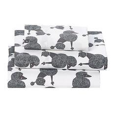 Poodle Party Sheets land of nod