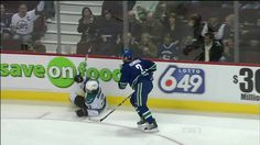 Dan Hamhuis places the perfect hip check on Douglas Murray | youtube
