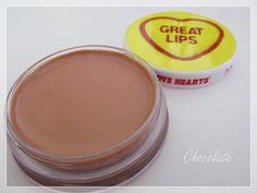 MUA Great Lips lip balm Lip Balm, Lips, Chocolate, Beauty, Products, Beleza, Chocolates, Eos Lip Balm