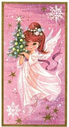 fete noel vintage gifs images - Page 2 25 Days Of Christmas, Purple Christmas, Christmas Scenes, Christmas Music, Retro Christmas, Christmas Angels, Vintage Greeting Cards, Christmas Greeting Cards, Christmas Greetings