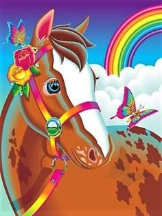 Lisa Frank Vintage Rainbow Chaser Horse Puzzle Complete with box and 250 pieces 90s Childhood, Childhood Memories, Rugrats, Lisa Frank Stickers, Back In The 90s, Rainbow Brite, Ol Days, 90s Kids, Colorful Pictures