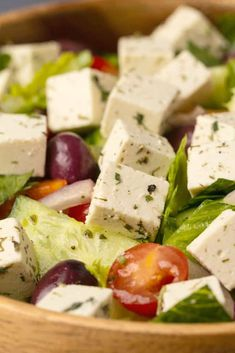 This vegan feta tastes just like the real thing! It also crumbles just like real feta and is savory, salty and totally divine! Vegan Cheddar Cheese, Feta Cheese Recipes, Dairy Free Cheese, Vegan Queso, Vegan Side Dishes, Side Dish Recipes, Vegetarian Recipes, Healthy Recipes, Vegetarian Cheese