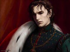 Commission for *Feliane Melisi Royal Family. Character: PRINCESS HELENANDRA MELISI PRINCE KEDRIK MELISI (Copyright :*Feliane) Painter IX Thanks