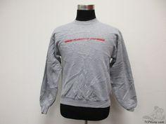 Vtg 90s Jerzees Utah Utes Crewneck Sweatshirt sz S Small University Grey Red #Jerzees #UtahUtes