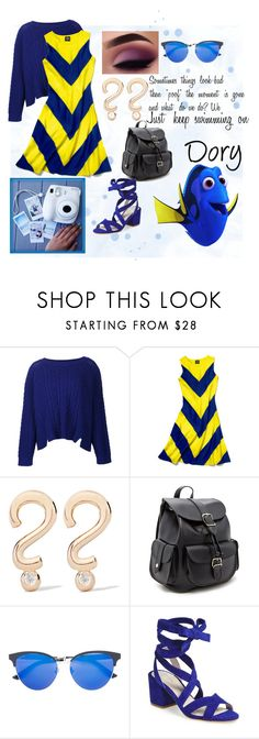 """Dory: Park Ready"" by foreverdisneybounding ❤ liked on Polyvore featuring ZAC Zac Posen, Slater Zorn, Alison Lou, Forever 21, Gucci, Polaroid, Kenneth Cole, disney, disneybound and DORY"