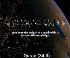 Qur'an verse: Surah Saba Verse 3