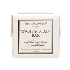 My Travel Packing List: The Laundress® Wash and Stain Bar - On the Go Trav...