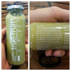 true fruits smoothie green - Poetenflöte