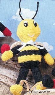 Crochet En Acción: Semana de la fauna: insectos, y criaturas del mar