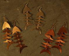 Set of 3 Fair Trade Bombolulu Fish Earrings
