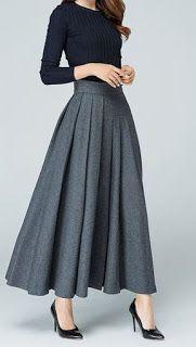 18 Super Cheap Long Skirt - Style Spacez skirt skirt skirt skirt outfit skirt for teens midi skirt Work Fashion, Fashion Outfits, Rock Outfits, Fashion 2018, Fashion Ideas, Girl Outfits, Womens Fashion, Dress Skirt, Dress Up
