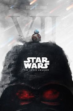 Star Wars VII – The Force Awakens, a digital artwork created by Kiev, Ukraine based digital artist and graphic designer, Ara Badiya.