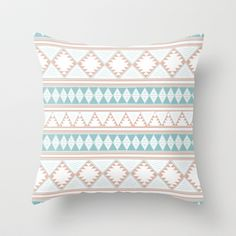 YERBABUENA Throw Pillow by Nika  - $20.00