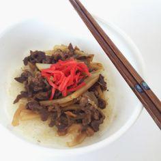 beef donburi recipe