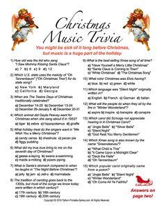 Christmas Trivia Games | Charlie brown christmas, Christmas trivia ...