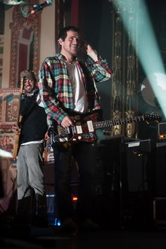 Jesse Lacey. Smiling? Who even are you?