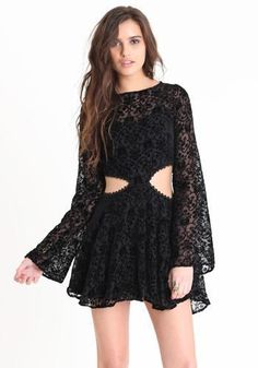 For Love & Lemons Blackbird Dress