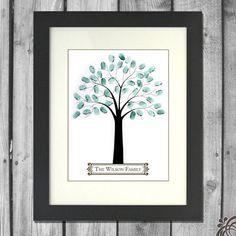 Printable Family Tree by ChristinaElizabethD on Etsy, $15.00