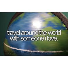 Travel around the world with someone in live