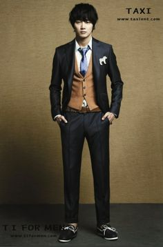 Korean Fashion, this is exactly how I want my man to dress up!