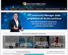 Con el objetivo de mejorar la experiencia de navegación he actualizado mi blog de Community Manager, Redes Sociales y Marketing Digital. Visítalo y cuéntame como te parece el nuevo diseño. http://www.juancmejia.com/