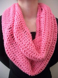 Crochet Infinity Scarves by SiennaSews on Etsy, $16.98  Free Shipping!!!!!