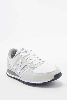 """New Balance – Sneaker """"420"""" aus Wildleder in Weiß"""