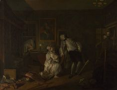Fixed size image thumbnail Marriage A-la-Mode: 5, The Bagnio  about 1743, William Hogarth