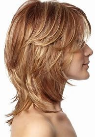 Image result for shoulder length shaggy hairstyles