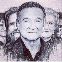 Robin Williams and his vast array of characters