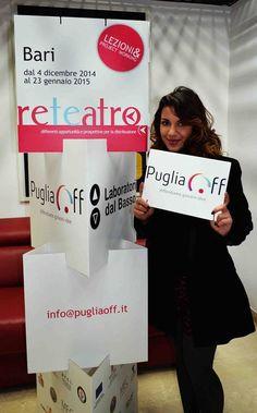 Teatro è vita (e web 2.0). Stiamo contattando Teatri e Spazi pugliesi per parlare di www.pugliaoff.it.  Vi va di incontrarci?